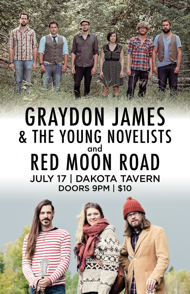 the young novelists w/ red moon road at the dakota tavern