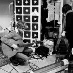 The Young Novelists in studio