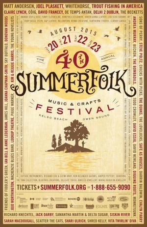 Summerfolk Poster